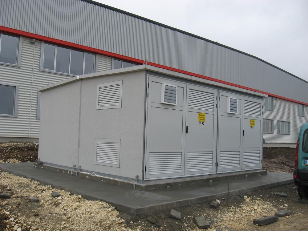 Witte Automotive - concrete transformer substation