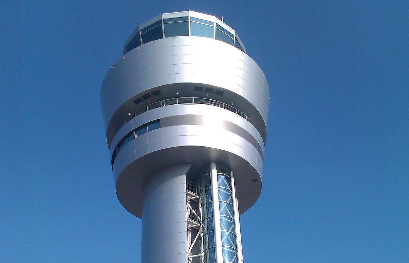 New Aircraft Navigation Tower, Airport Sofia, Terminal 2